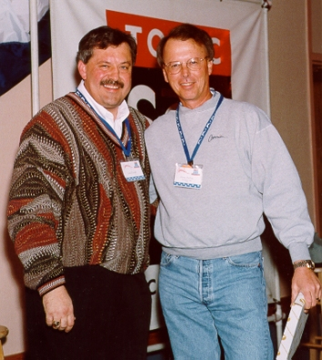 Larry Zavadil with Dusty